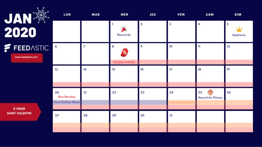 calendrier ecommerce janvier
