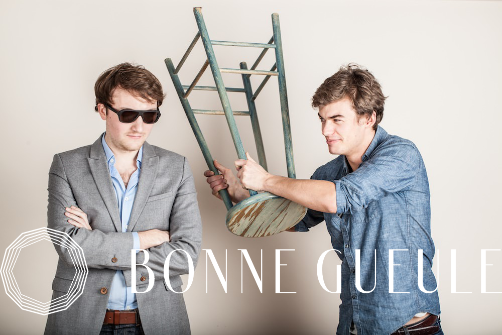 Les fondateurs de Bonne Gueule (DNVB française) : Geoffrey et Benoît