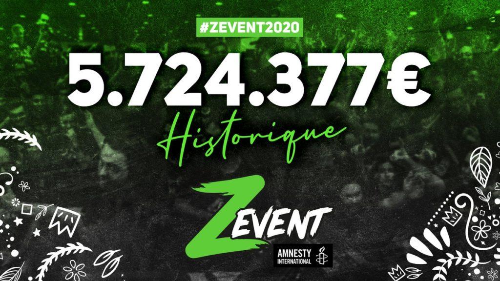 les gamers récoltent 5,7 millions d'euros pour Amnesty International