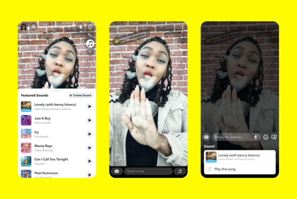 Snapchat Sounds