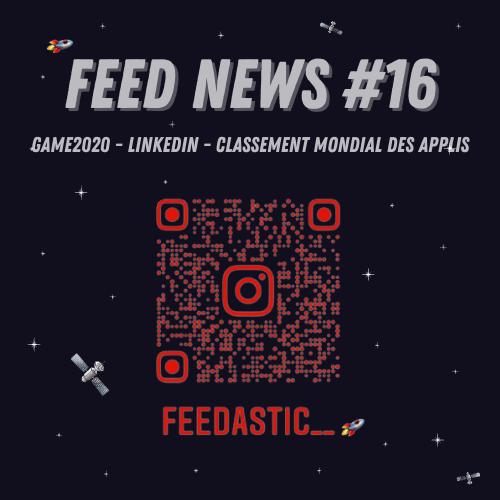 Feed News #1 Ajoutez des liens sur vos stories LinkedIn pour générer du traffic #2 Le classement mondial des applications les plus téléchargées. #3 Revivez les événements de 2020 à travers ce jeu gratuit.