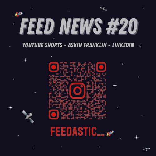 Feed News #1 Youtube Shorts #2 Asking Franklin pour découvrir les requêtes des internautes sur Google #3 Linkedin développe une plateforme » Marketplaces»