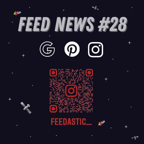 Feed News #1 La conférence Google I/O #2 Pinterest et ses épingles idées #3 Publier des posts Instagram depuis un ordinateur