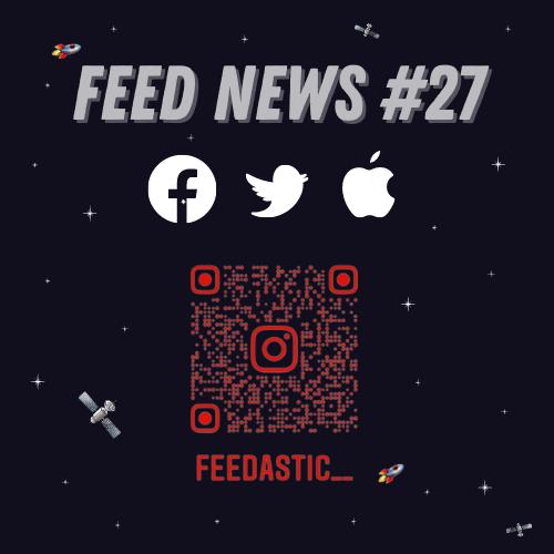 Feed News #1 Super Follow et pourboires Twitter #2 Facebook teste les publicités Instagram Reels #3 Tout savoir sur l'App Tracking Transparency